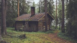 Escape Room Escape Game Mannheim Enigma title The cabine in the woods